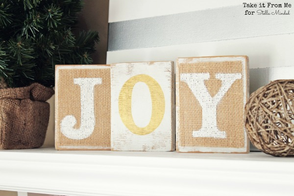 stella minded Two Sided JOY Blocks 4 w LOGO