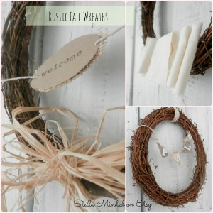 stella minded Rustic Fall Wreaths