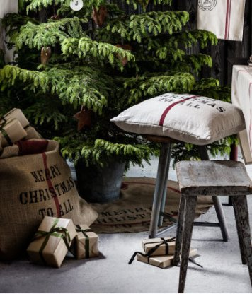H&M Christmas Tree Mat under Tree