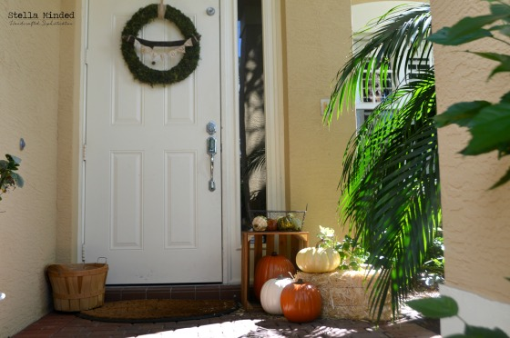 stella minded Fall Front Door Decor 2014