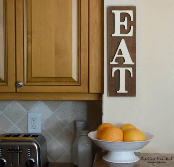stella minded Rustic EAT sign 6
