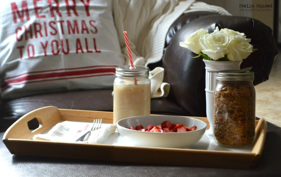 stella minded Christmas 2014 Breakfast Vignette