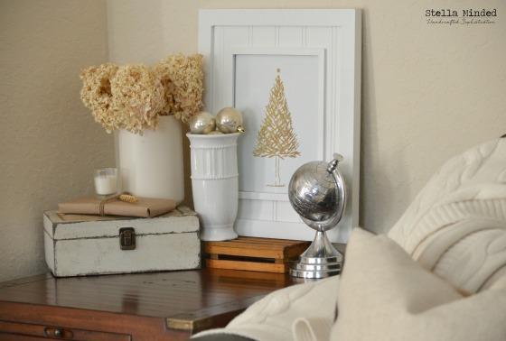 stella minded Christmas 2014 Living Room Vinguette 1